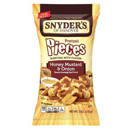 Snyder's Pretzel Pieces Honey Mustard Onion 5oz