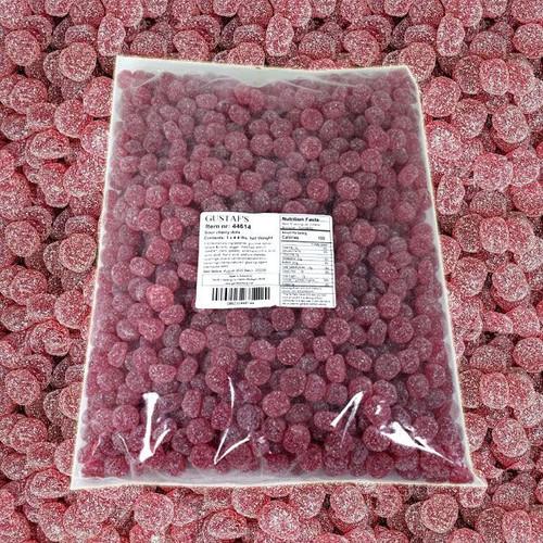 Sour Cherry Gummi Dots 4.4lb