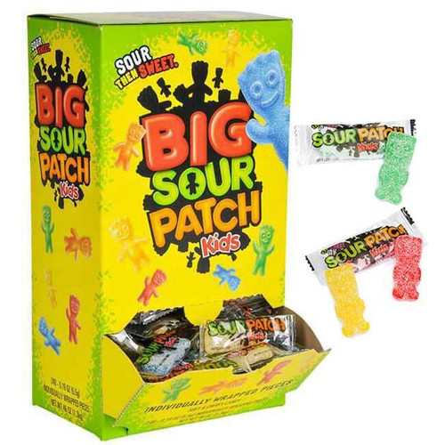 Big Sour Patch Kids Wrapped 240 Count