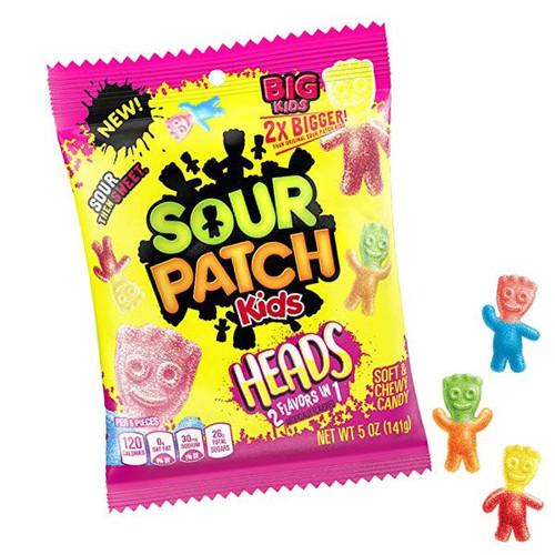 Sour Patch Kids Heads 5oz Bag