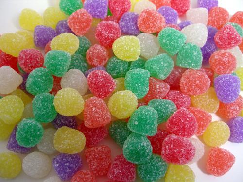 Spiced Gum Drops 32oz Small Assorted Colors