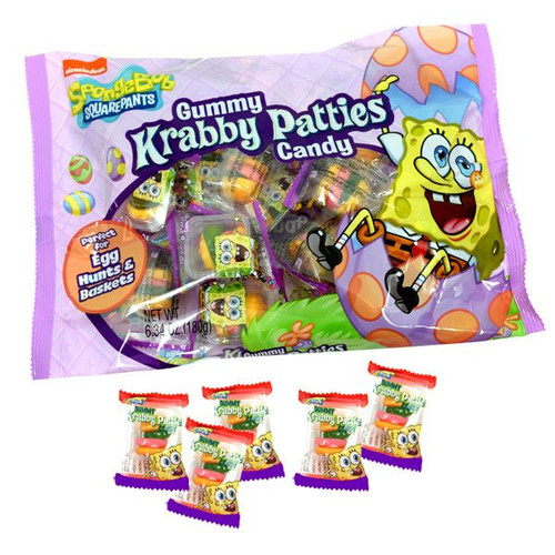 SpongeBob Easter Gummi Krabby Patty 6.34oz