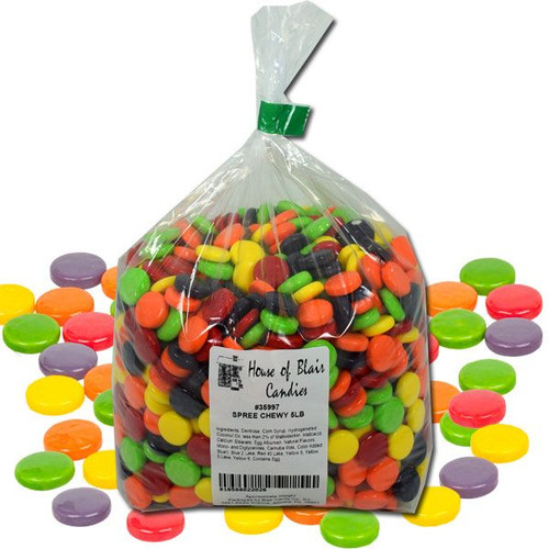 Spree Chewy Candies 5lb Bulk Bag