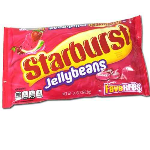 Starburst Fave Reds Jelly Beans 14oz
