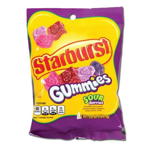 Starburst Gummi Sour Berry 5.8oz