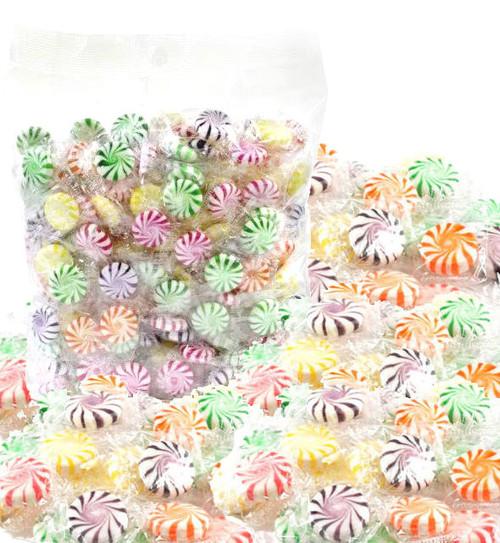 Assorted Flavors Starlight Mints 5lb Bag