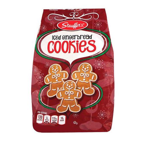Stauffers Iced Gingerbread Cookies 12oz