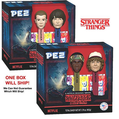 Pez Stranger Things Dispenser