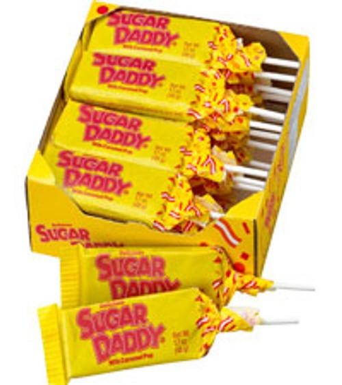 Sugar Daddy Lollipop 24ct Nostalgic Candy