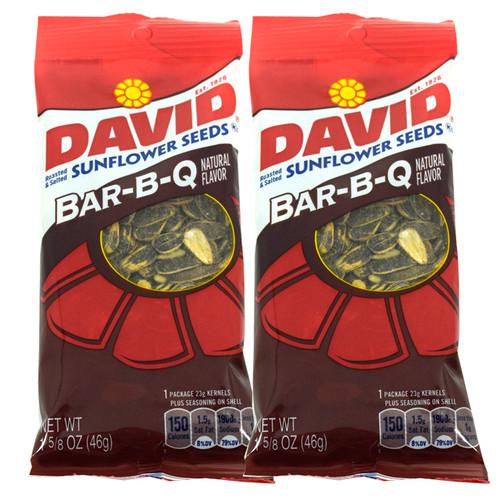 David Sunflower Seeds 12ct - BBQ