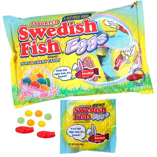 Swedish Fish Eggs - Treat Size 9.5oz