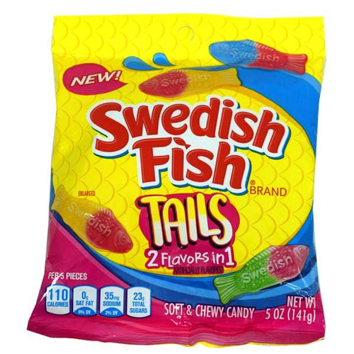 Swedish Fish Big Tails 5oz Assorted