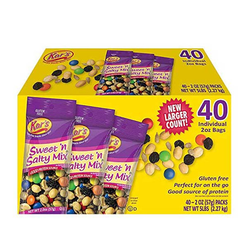 Kars Sweet & Salty Trail Mix 40 Count