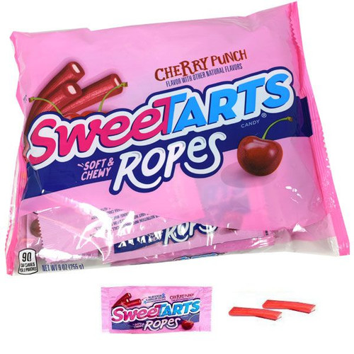 SweeTart Ropes Fun Size Halloween 12 Count