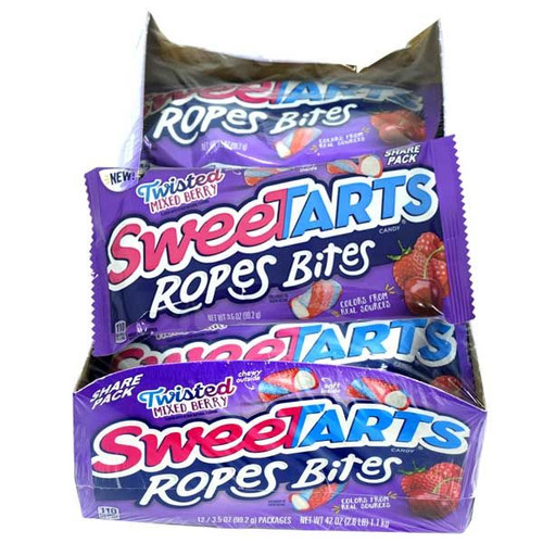 SweeTart Ropes Bites Twisted Mixed Berry 12 Count