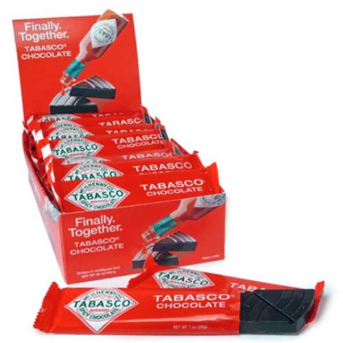 Tabasco Chocolate Bars 36 Count