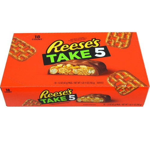 Take 5 Candy Bars 18ct