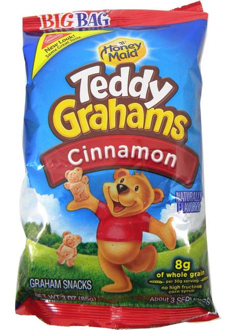 Teddy Grahams Cinnamon 3oz Bag
