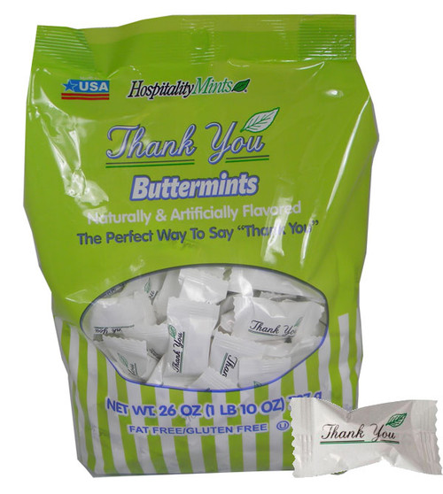 Thank You Butter Mints 208 Count Large