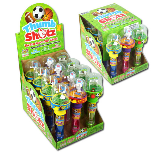 Thumb Shots Sports Candy 12 Count