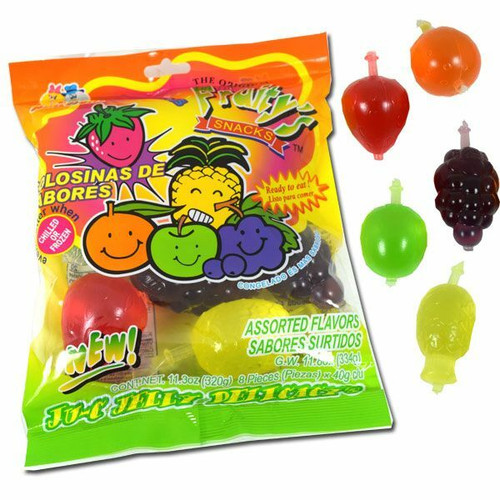 Tik Tok Challenge Jelly Fruit Candy 8 Count bag