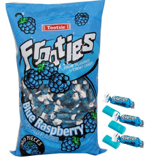 Blue Raspberry Tootsie Frooties 360ct