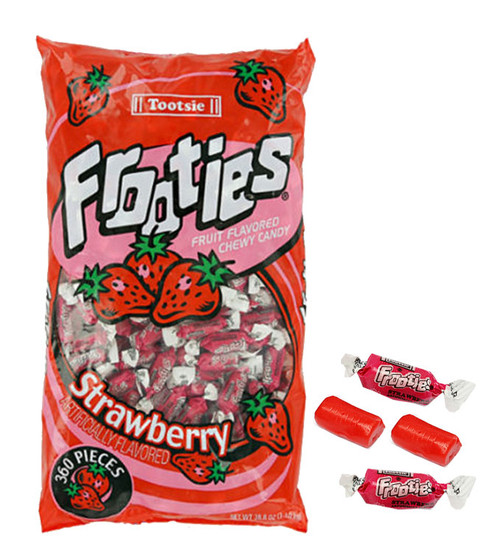 Strawberry Tootsie Frooties 360ct