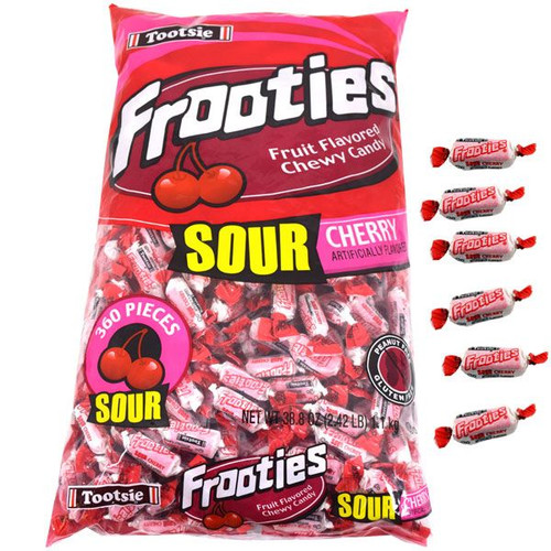 Sour Cherry Tootsie Frooties 360 Count