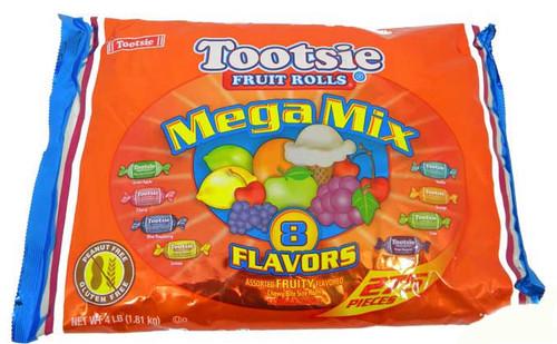 Tootsie Mini Fruit Rolls Mega Mix 275 Count