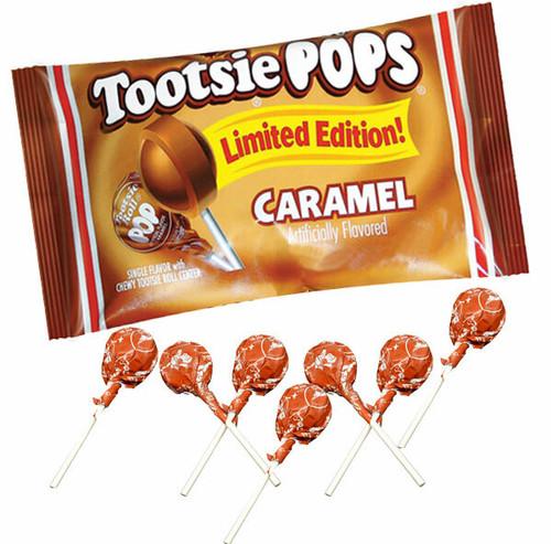 Tootsie Pops Caramel 21 Count Bag
