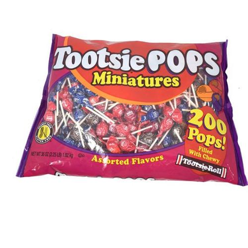 Tootsie Pop Minis 200 Count
