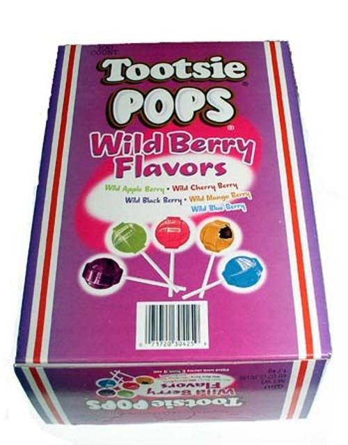 Tootsie Pop Wild Berry Lollipops 100 Count