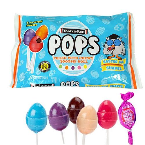 Tootsie Pops Easter Egg Pops 9oz Bag