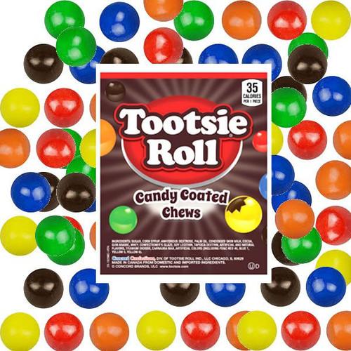 Candy Coated Tootsie Roll Chews 24oz Bag