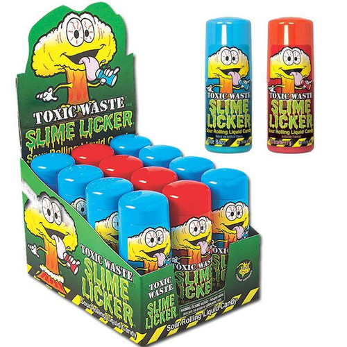 Toxic Waste Slime Licker Pops