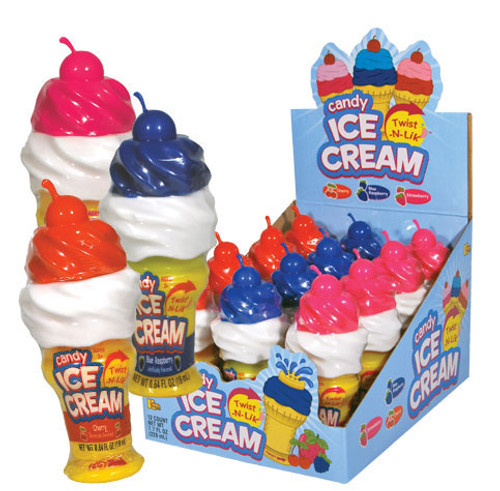Twist N Lik Cone With Candy Liquid 12 Count