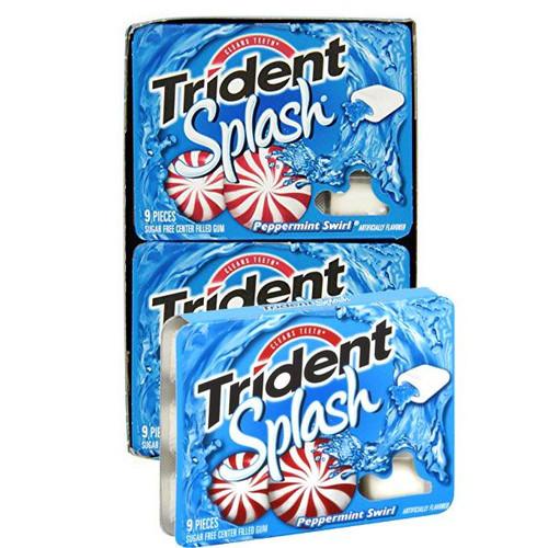 Trident Splash Peppermint Swirl 10 Count