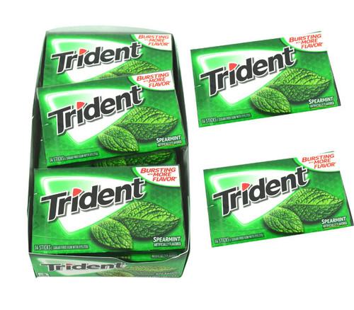 Trident Spearmint 12 Count