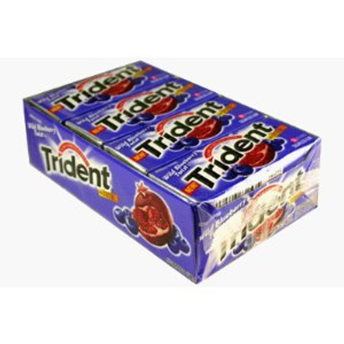 Trident Value Pack 12 count - Wild Berry