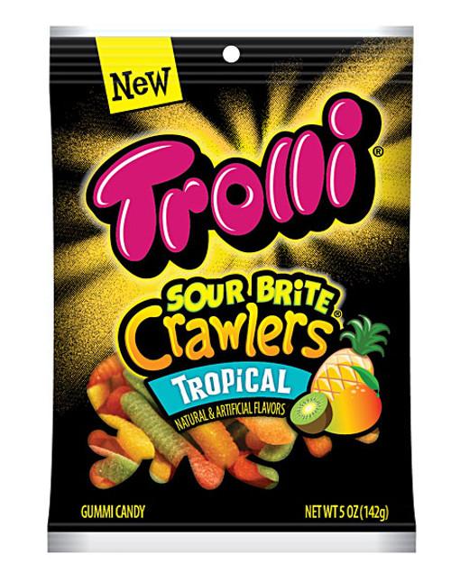 Trolli Brite Crawlers Tropical 5oz Bag