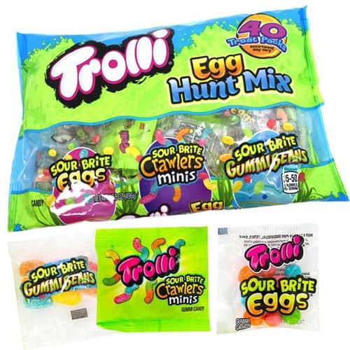 Trolli Egg Hunt Mix 40 Count