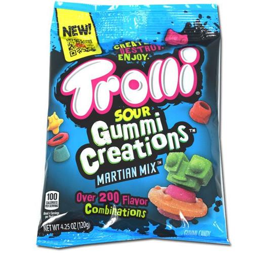 Trolli Sour Gummy Martians Creations 4.25oz