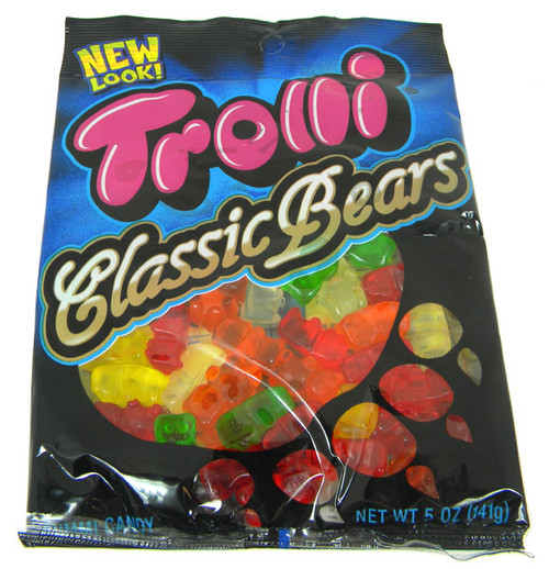 Trolli Gummy Bears 4.25oz bag
