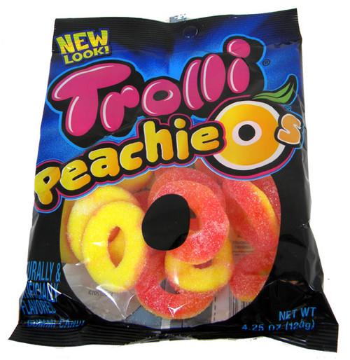 Trolli Gummy Peaches 4.25oz Bag