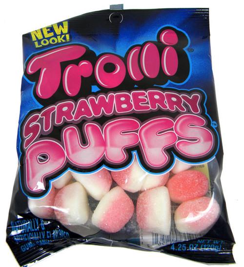 Trolli Strawberry Puffs 4.25oz Bag