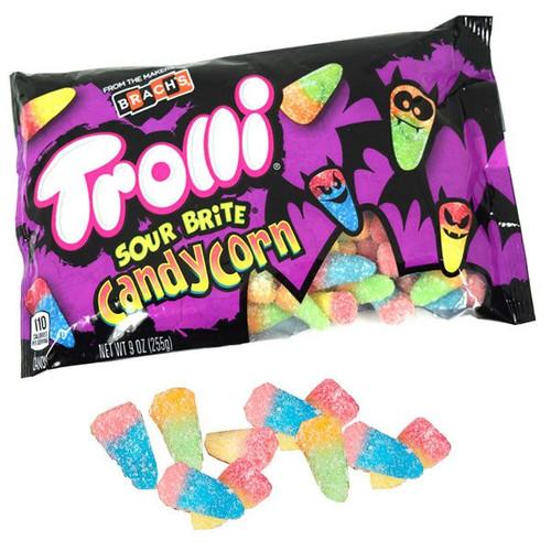 Trolli Sour Brite Crawler Candy Corn 9oz