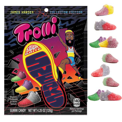 Trolli James Harden Sour Sneakers 4.26oz Bag