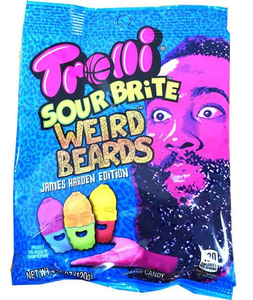 Trolli Sour Brite Weird Beards James Harden Edition
