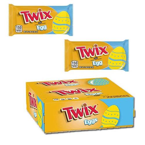 Twix Caramel Eggs 24 Count
