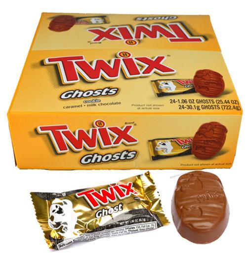 Twix Caramel Ghosts 24 Count